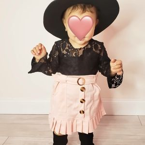 Toddler Shein Lace Top